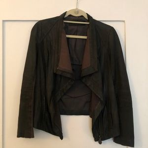 Elie Tahari Jackets & Coats - Ellie Tahari Lamb Leather Jacket - XS